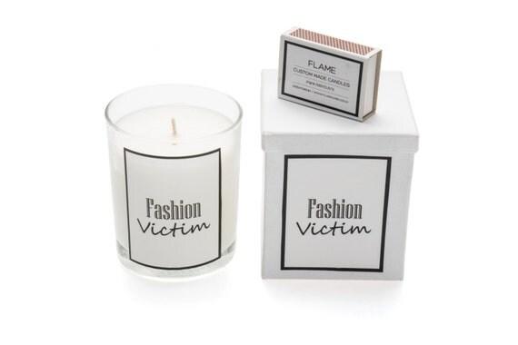 articles similaires personnalis noir blanc logo personnalis bougies parfum es bougie. Black Bedroom Furniture Sets. Home Design Ideas