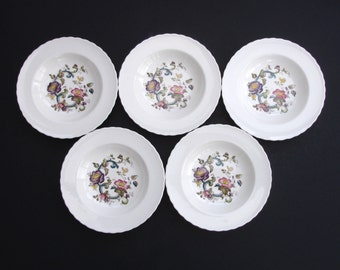 5 Masons Ironstone China Bowls Vintage Bowl Vintage Serving Vintage Dinner Service