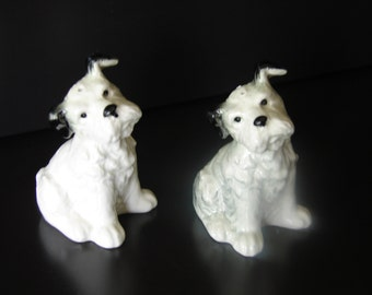 VINTAGE W. GOEBEL W. GERMANY Dog Shakers