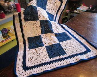 "Crib blanket - ""Pioneer"" design"
