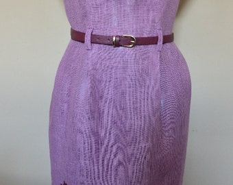 Linen women's dress