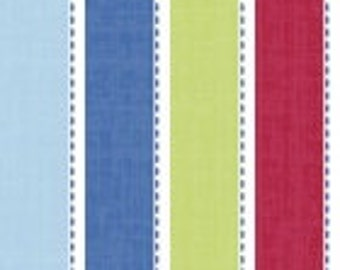 Nautical Fabric by Springs Creative, 1/4 metre or more, Stripe Fabric, Online Quilting Fabric Australia