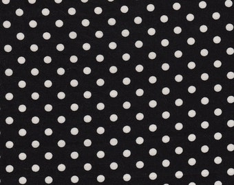 Black with White Dots by Michael Miller