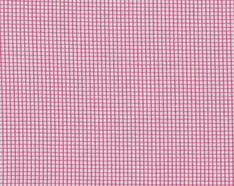 "Raspberry Windowpane 60"" Wide Fabric by Fabric Finders"