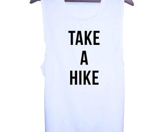 Take a Hike Muscle Tee