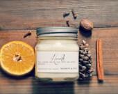 Hearth Mason Jar Soy Candle