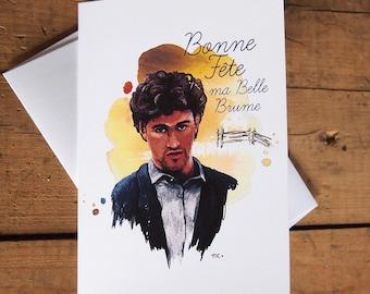 Greeting card – Ovila Pronovost, Les Filles de Caleb – by Marie-Claude Marquis