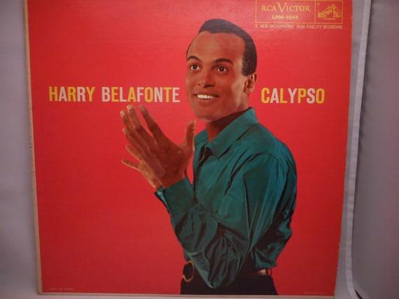 Harry Belafonte Calypso 1956 Collectible By Blurryattworecords