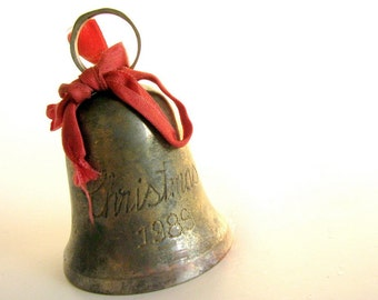 Vintage 1980's Brass Bell from India