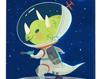 Space Trike - Art Print