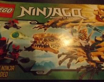 LEGO Ninjago Masters of Spinjitzu assembly booklet 70503
