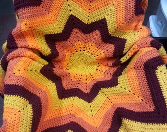 Fall Spectrum Afghan