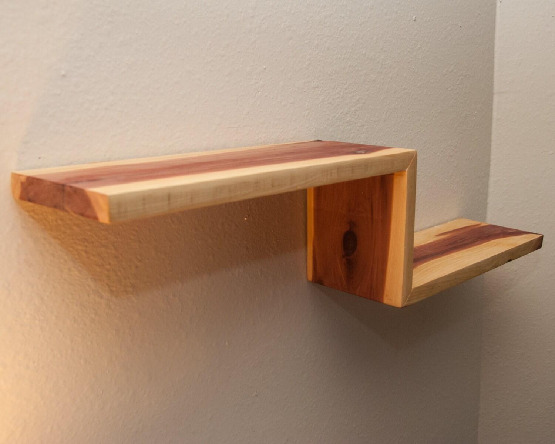 Modern Shelf Reclaimed Shelf Floating Shelves By SimplyPallets