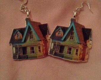 UP house earrings