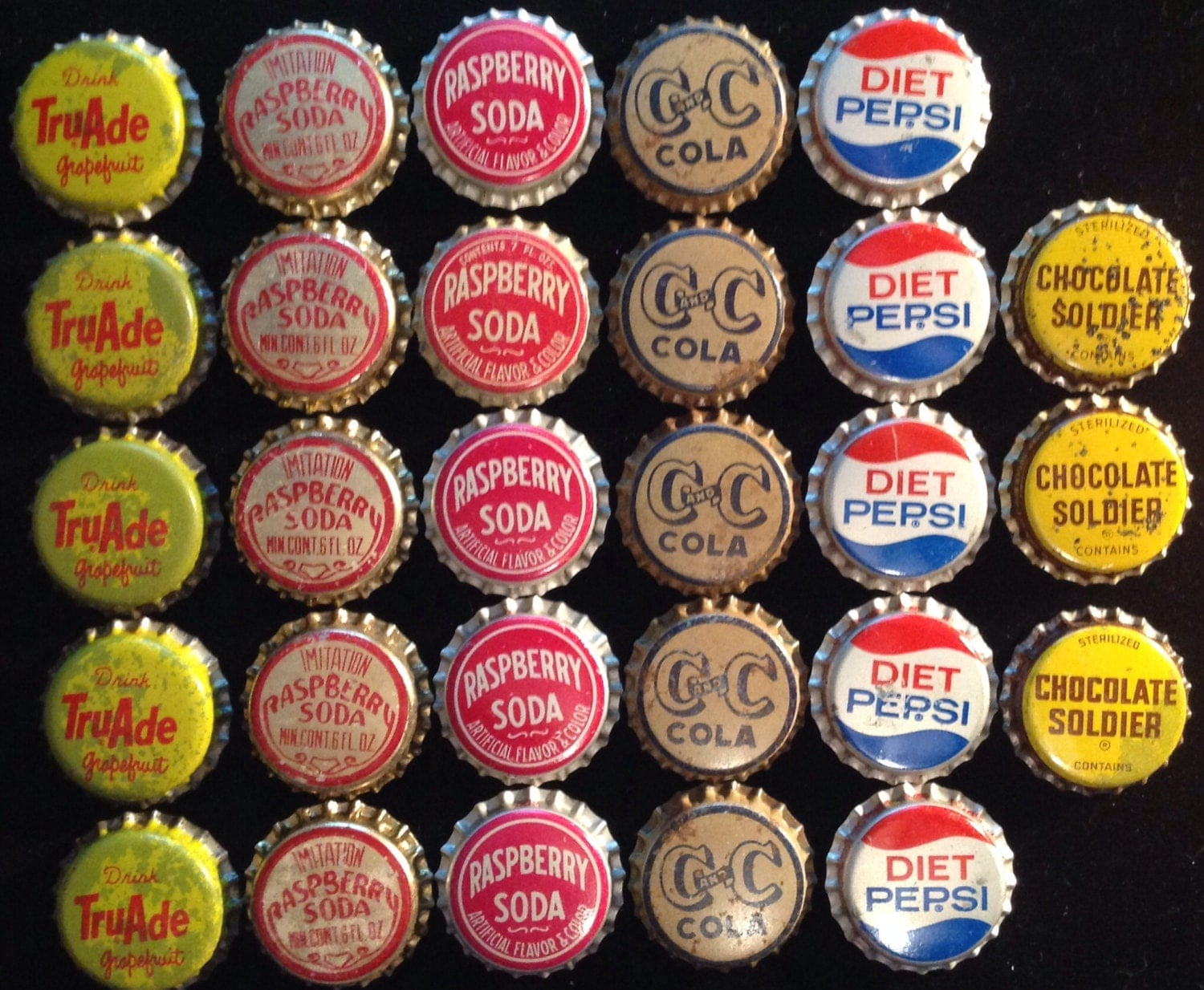 28 cork soda bottle caps scratch sale by txsodajerks on etsy