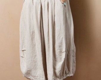 Womens Clothing Womens Skirt Casual Skirt Pleated Skirt Plus Size Skirt Black Skirt Mid Calf Skirt A Line Summer Skirt(WS11235)