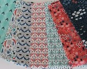 Fat Quarter Bundle of Wildwood by Elizabeth Olwen for Cloud 9 Organic Fabric- Only two left!