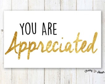 Just Because Card - You Are Appreciated