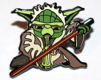 Star Wars Yoda Dabbing Bho Hat Pin.