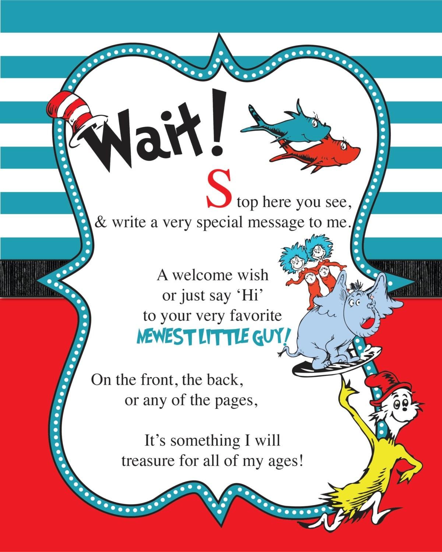 Dr Suess Invites is adorable invitation template