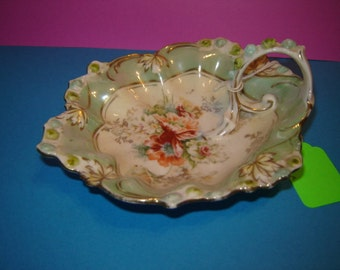 R S Germany handled dish 1800s