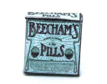 Beechams Pills Dolls House Miniature