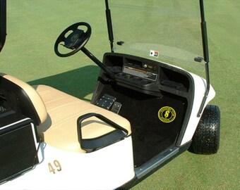 Custom & Personalized Golf Cart Mats