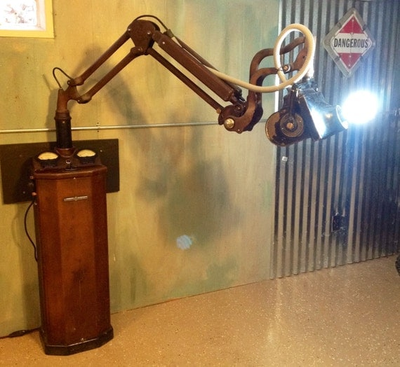 Antique Medical Dental Xray Machine Converted Into