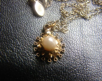 12KGF Pearl Necklace 58a