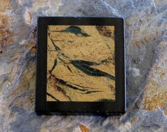 Intarsia Jasper Onyx Chohua Drilled Focal Pendant