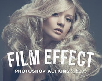 30 Film Photoshop Actions for Photoshop CC & CC2014 only  + Adobe Camera RAW Presets (for Photoshop CS6+) Matte Effect Film Effect Ps Action