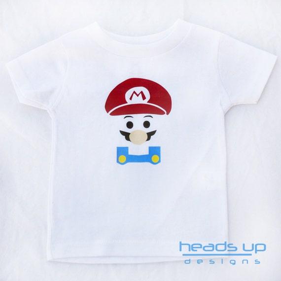 Items Similar To Mario Shirt Toddler Toddler Boy Mario