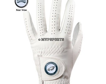 Philadelphia Eagles Golf Glove & Ball Marker