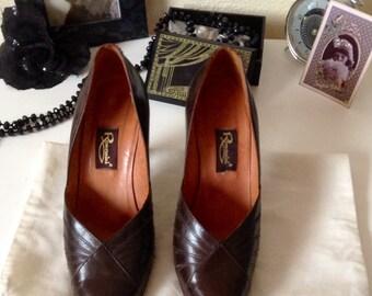 Gorgeous 80s Retro Vintage  Italian Stilettos