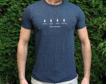 Trees of The Yukon // Men's Tree Shirt