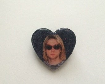 Kurt Cobain Pin
