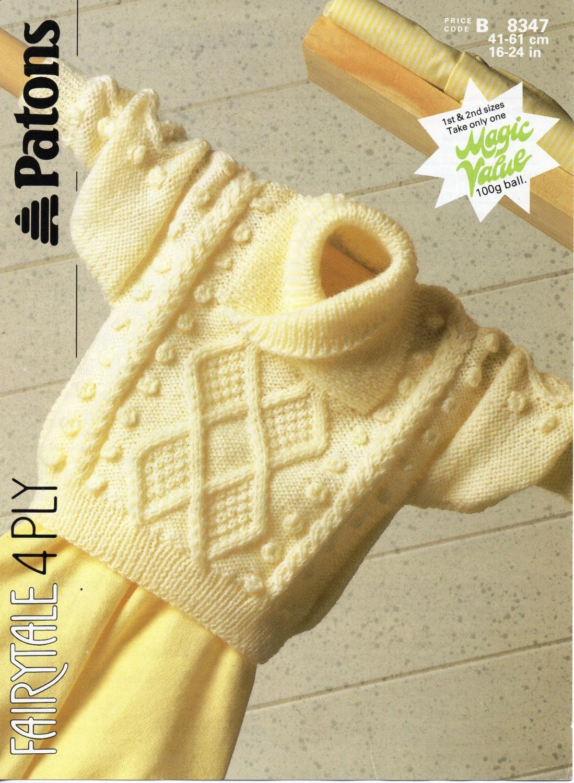 Baby cable shawl collar sweater knitting pattern pdf baby aran zoom bankloansurffo Choice Image