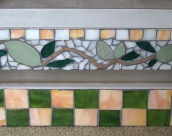 Springtime Mosaic Planter Box