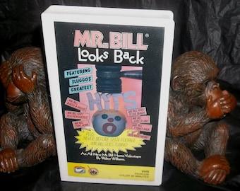 MR. BILL vhs Video 1983 Looks Back Featuring Sluggo's Greatest Hits 30 min. SNL