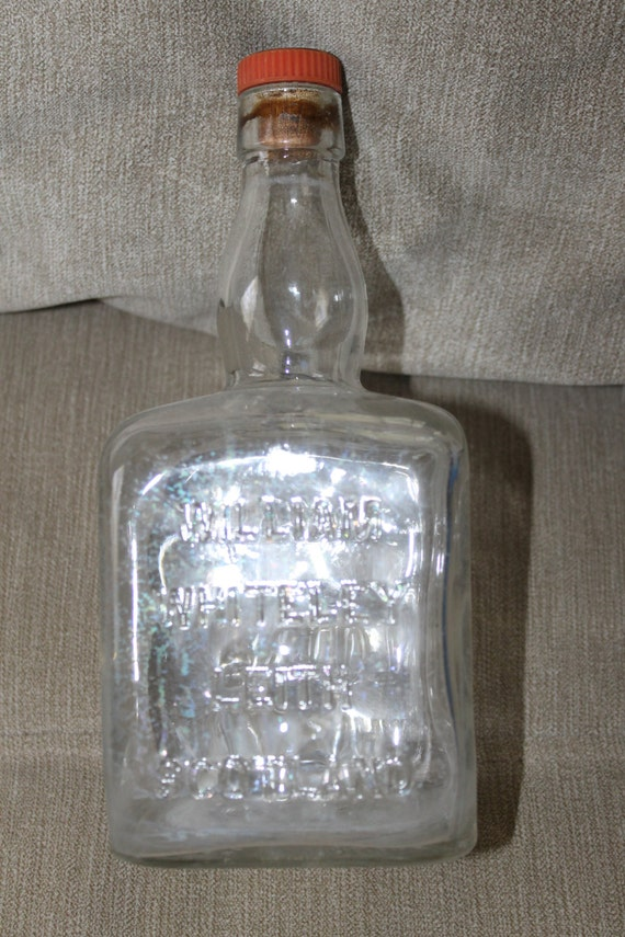 William Whiteley Leith Scotland Whiskey Bottle Square