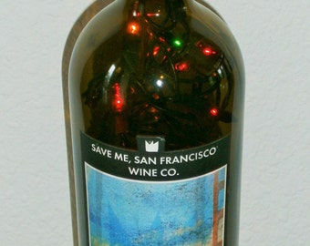 Save Me San Francisco Drops of Jupiter Bar Bottle Light