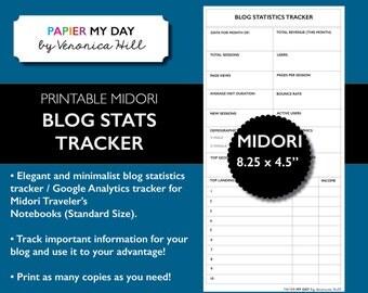 Midori Blog Statistics Tracker - Google Analytics Tracker - MTN Blog Tracker