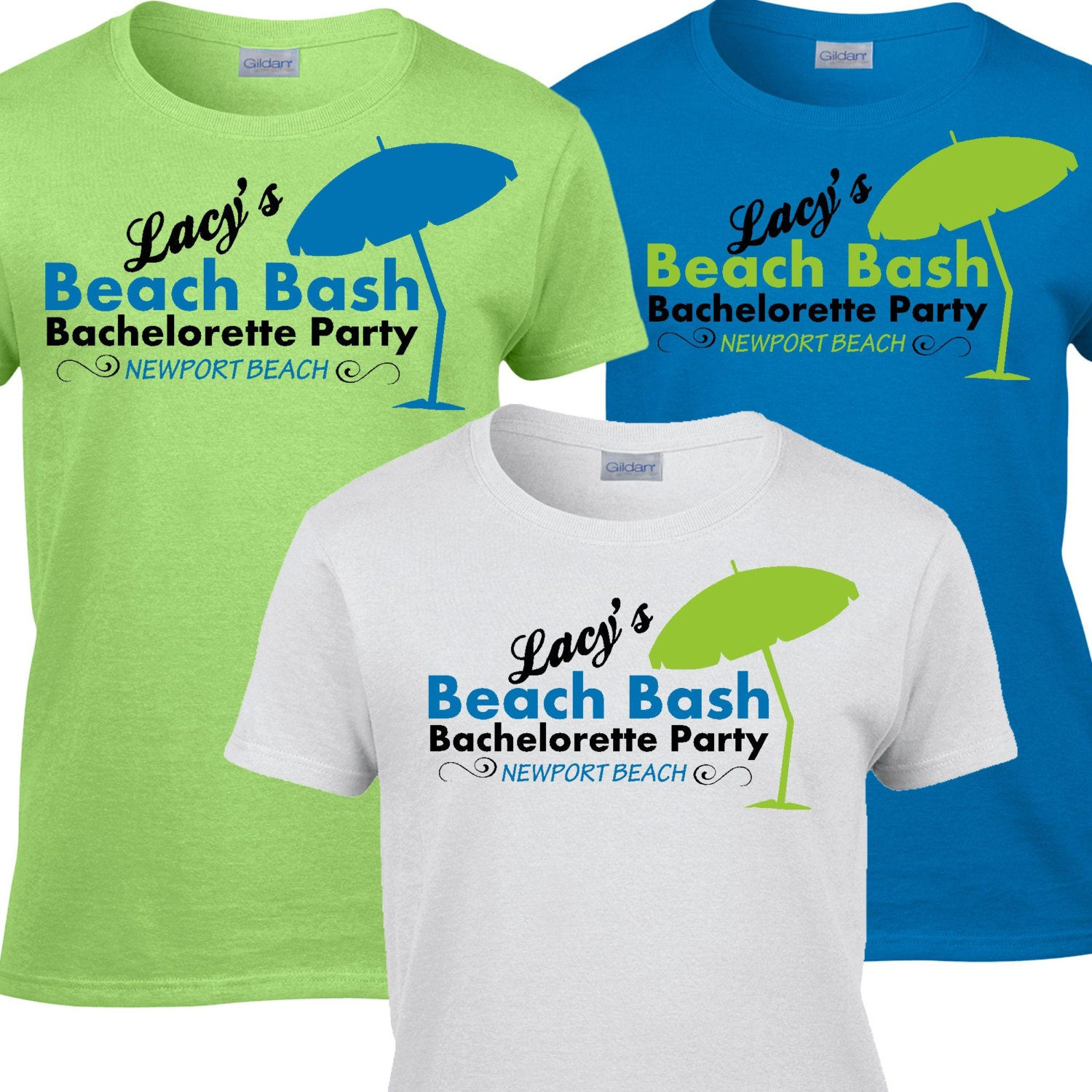 10 Beach Bachelorette Party T Shirts By Whynotstopnshop
