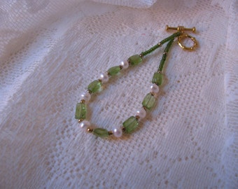 Peridot Bracelet Green Beauty   ECS