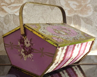 Vintage candy or chocolate box