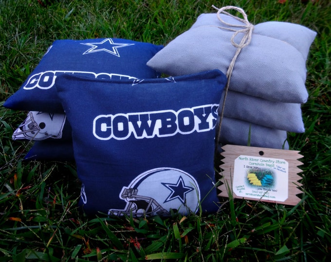 Corn Hole Bags, NFL Corn Hole Bags, Dallas Cowboys Corn Hole Bags, Steelers Corn Hole Bags, Custom Corn Hole Bags,