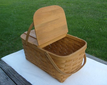 Country Boy Picnic Basket