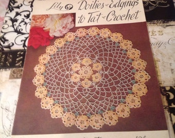 Lily Doilies edgings to Tat Crochet