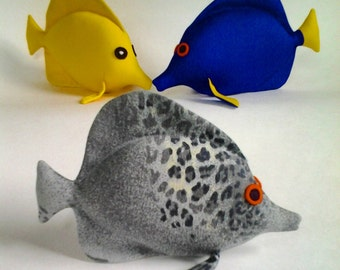 Fish Soft Toy Pattern, PDF Pattern Tutorial, DIY Soft Toy, Toy sewing Pattern, small toy pattern, Fish toy Pattern, Fish doll Pattern, DIY