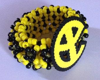Yellowclaw Perler on 3D Cuff